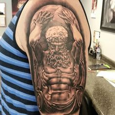 Image result for atlas tattoo