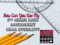 This video will show you how to plan out your ENTIRE year of 5th grade Math Assessments.