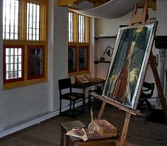 In the Studio of the Rembrandt House in Amsterdam.jpg