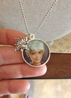Jack Frost Necklace by GreyBird4 on Etsy, $15.00 Rise of the Guardians