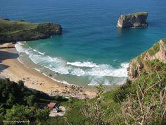 Asturias -Playa de la Ballota