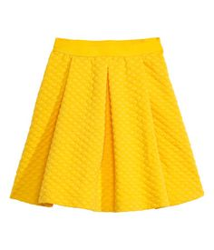 Fit & Flare Bubble Skirt | H&M US