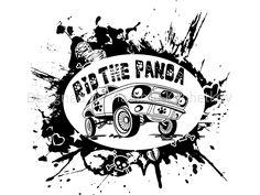 "Дизайн футболки для группы ""RID THE PANDA"" on Behance"