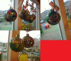 oude kerstballen laten versieren