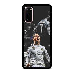 CRISTIANO RONALDO REAL MADRID Samsung Galaxy S20 Case Cover - Black / Plastic