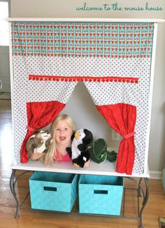 Hayley's Puppet Theater Cabinet — SewCanShe   Free Daily Sewing Tutorials