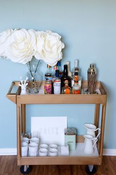 Drink Up: 20 Bar Carts To Buy Or Diy