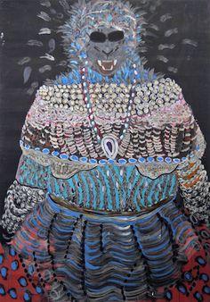 Galerie Daniel Templon - Current Show Omar Ba