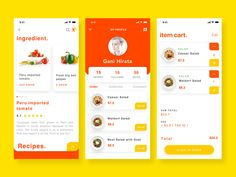 Food order & delivery - Delivery Food - Ideas of Delivery Food - Food order & delivery ux ui app design Web Design Mobile, App Ui Design, Web Design Trends, Web Design Company, Interface Design, User Interface, Website Design Layout, Web Layout, Design Layouts