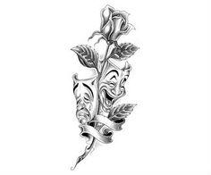 Mask Tattoo Design Art