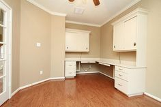 7939 SONOMA OAK DR HOUSTON, TX 77041: Photo Study. Built-in desk and cabinet space