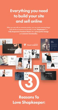 When you start with an awesome product you can create amazing things! Built with the eCommerce functionality in mind, Shopkeeper is a fully responsive Premium WordPress Theme with a pixel perfect d...