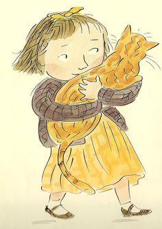 illustration from 'Ginger' by Charlotte Voake