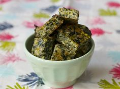 Spinach cheese bites for toddlers