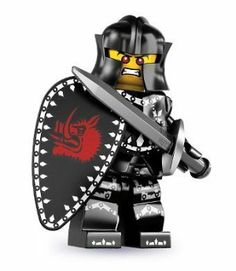 Lego Evil Knight Minifigure, Series 7 (2012)