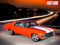 Chevrolet Nova (my first car i bought when i left home was a 1974 chevy nova..5-speed..candy apple red ;)