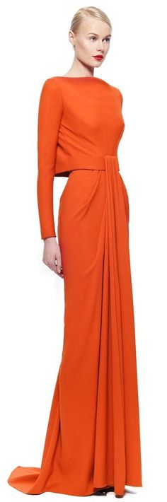 Get inspired and discover Zac Posen trunkshow! Shop the latest Zac Posen collection at Moda Operandi. Look Fashion, High Fashion, Fashion Design, Fashion Spring, Beautiful Gowns, Beautiful Outfits, Stunning Dresses, Mode Orange, Mode Glamour