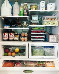 20 Smart Craft Organization Ideas for Making the Most out of Your Space - The Trending House Refrigerator Organization, Kitchen Organization Pantry, Recipe Organization, Organized Fridge, Craft Organization, Kitchen Pantry, Kitchen Decor, Freezer Organization, Healthy Fridge
