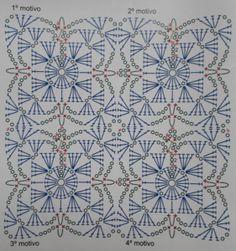 Como unir cuadrados tejidos al crochet o ganchillo sin coserlos