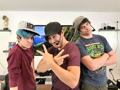 Ethan, Mark and Tyler