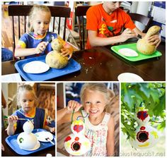 Bird House Gourds from ImaginativeU