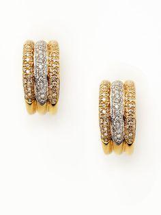 Piranesi Diamond Hoop Earrings