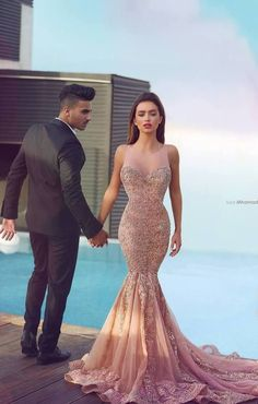 Champagne Prom Dresses,Mermaid Prom Gowns,Mermaid Prom Gown,2016 Prom Dress,Evening Gonw For Teens
