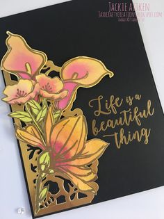 Jaxx Crafty Creations: Just Add Ink - Remarkable You Asian Cards, Poppy Cards, Retirement Cards, Stampin Up Catalog, Stampin Up Cards, Altenew Cards, Cards For Friends, Pretty Cards, Watercolor Cards
