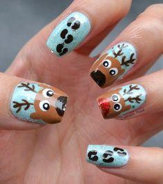 Reindeer Nails (3)