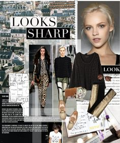"""Looks Sharp"" by alysser ❤ liked on Polyvore"