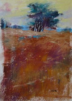 Monotypes+&+Pastel...The+Nantucket+Landscapes,+painting+by+artist+Karen+Margulis