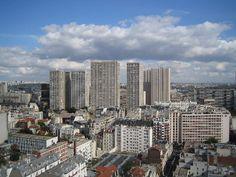 Les Olympiades dans le 13e arrondissement de Paris