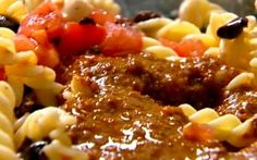 Pasta with sun-dried tomatoes Recipe by Ina Garten