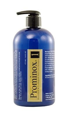 Prominox® 1 Hair Loss Shampoo by Prominox. $24.75. Smooths & Stengthens. Deep Cleans Oil & Dirt. With Minoxidil & Trichogen. Promotes New Hair Growth. For Short & Long Term Growth. The first hair loss shampoo to combine the proven effectiveness of Minoxidil® & Trichogen®!
