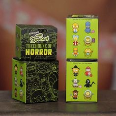 The Simpsons X Kidrobot Tree House of Horrors Blind Boxes