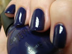 Sinful Colors: Mesmerize. I tried this color for the first time the other day and I love it!