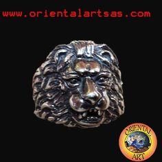 Anello Leone spettacolare www.orientalartsas.com