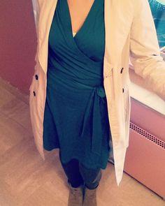 Dernier jour du Me Made May, #robeelisa @la_maison_victor et pour changer, un imper! #mmmay16 #jeportecequejecouds Wrap Dress, Instagram Posts, Dresses, Fashion, Vestidos, Moda, Fashion Styles, Wrap Dresses, Dress