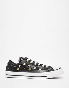Image 1 of Converse Chuck Painted Hardware Plimsoll Trainers