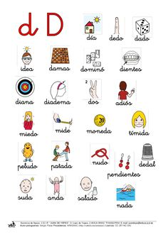 día dedo dado idea damas dominó dientesdiana … Letra Script, Teaching Spanish, Spanish Language, Homeschool, Messages, Activities, Learning, Speech Pathology, Toe