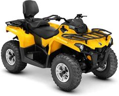 New 2016 Can-Am Outlander L Max Dps 570 Yellow ATVs For Sale in California. 2016 Can-Am Outlander L Max Dps 570 Yellow,