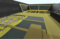 Cardiff set for trampoline park where you can literally bounce off the walls - Wales Online