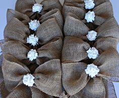 MASON JARS BURLAP Summer Wedding Spring Wedding Decor flowers Jute Bride Groom Rustic Farm House Shabby chic ocean Glass Decoration