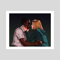 This is a gallery-quality giclèe art print on cotton rag archival paper, printed with archival inks. Print Poster, The Good Place, Fan Art, Art Prints, Printed, Gallery, Paper, Illustration, Artwork