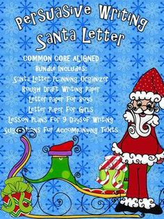 122 best letters to santa images on pinterest christmas activities letters to santa common core writing 9 days lesson plans p spiritdancerdesigns