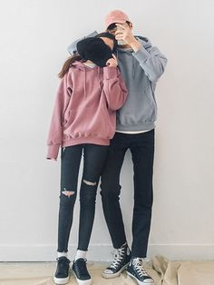 Korean Couple Fashion Outfits ideas for couples ♥ . Korean Couple Fashion Outfits ideas for couple Style Ulzzang, Ulzzang Fashion, Ulzzang Girl, Hip Hop Outfits, Mode Outfits, Fashion Outfits, Fashion Socks, Fashion Ideas, Korean Couple Fashion