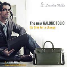 Here's presenting the Galore Folio Leather Laptop bag - Made of genuine, high quality hand crafted leather. This bag is really 'Premium Luxury' amongst all Laptop bags you can buy online! http://leathertalks.com/product/galore-folio-1/
