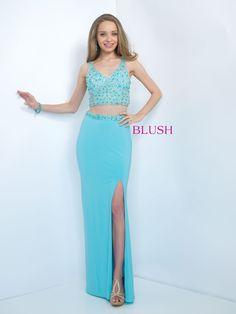 Blush Prom 11107 Water Blue