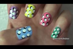 Awesome 3D design with a dotting tool