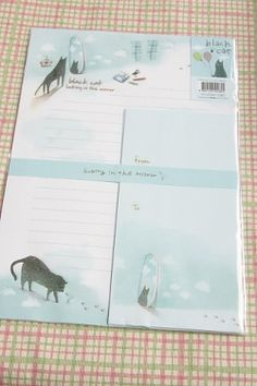 Kawaii Letter Set - Looking in the mirror